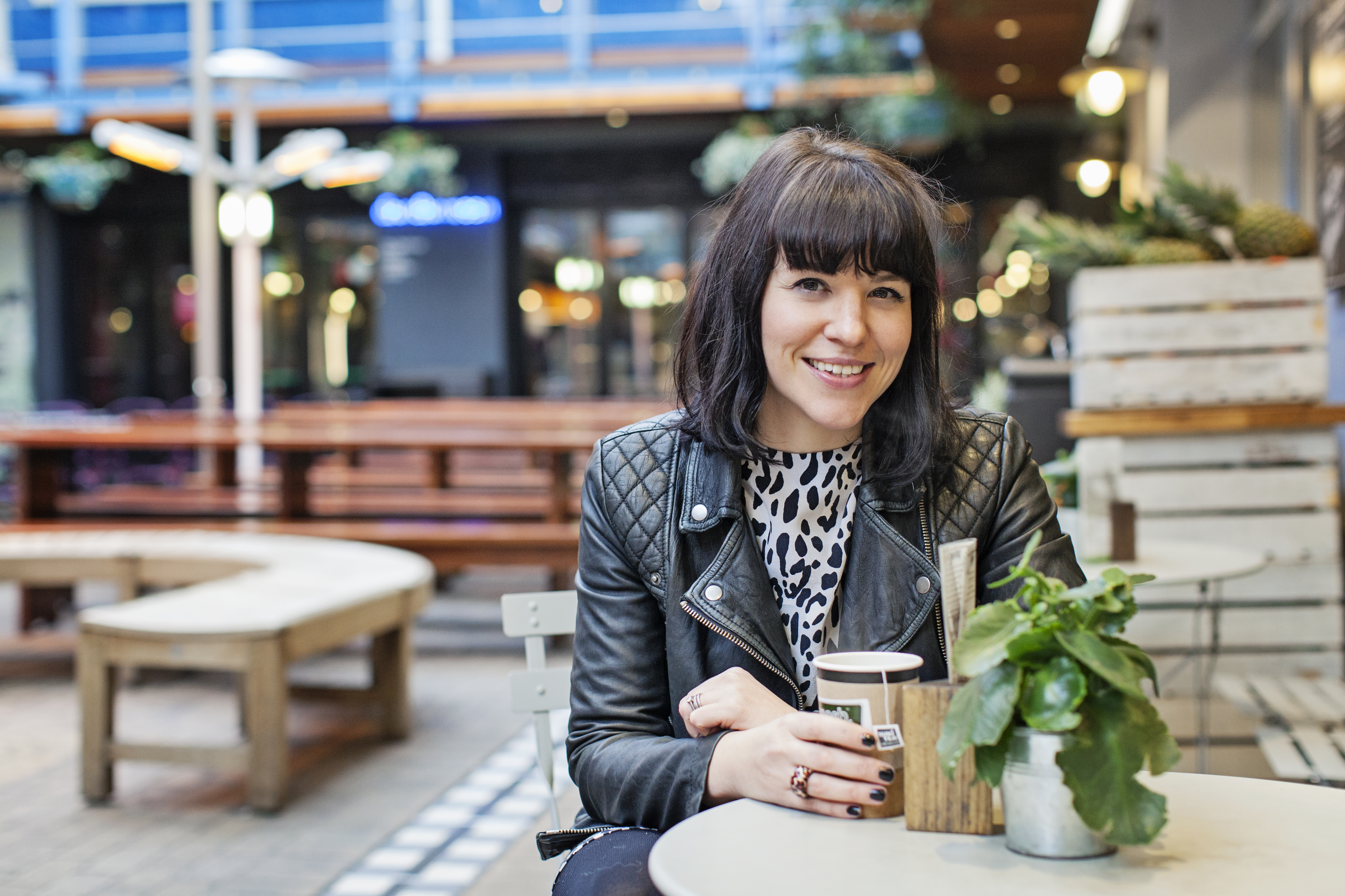 Steph Douglas, founder of Don't Buy Her Flowers and writer of The Sisterhood (And All That) blog, photographed in Central London.